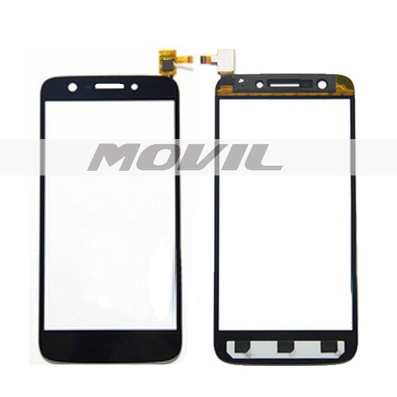 tactil Panel Glass Replacement para Prestigio PAP5508 PAP 5508 DUO tactil Screen Digitizer Black Color 1PC