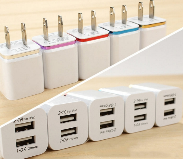 USB Wall Charger Travel USB Charger for iPhone Samsung Galaxy HTC
