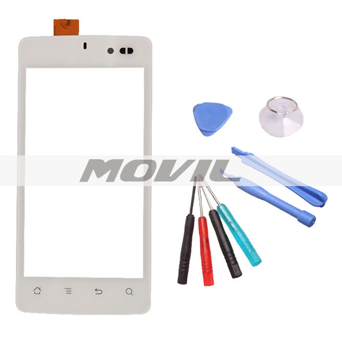 blanca Hywrite Panel Digitizer tactil screen Platinum+Free Replacement Repair Tool para Archos 45