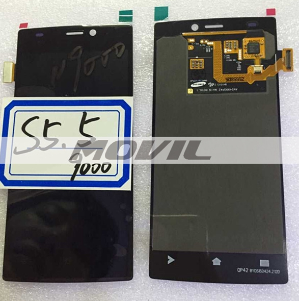 White or Black  pantalla screen display + touch digiziter  para Gionee S5.5 GN9000