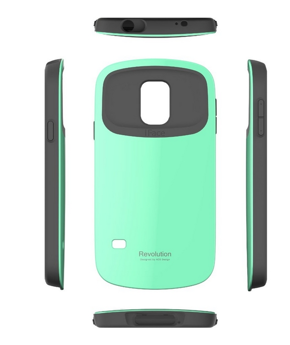 iFace Revolution Galaxy S5 Case Cover  Dual Layer Bumper Protection mint