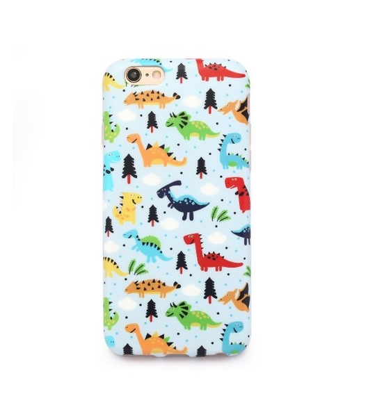 iPhone 6 Case  Whole Covered IMD TPU Case for iPhone 6 4.7 inch -dinosaurs