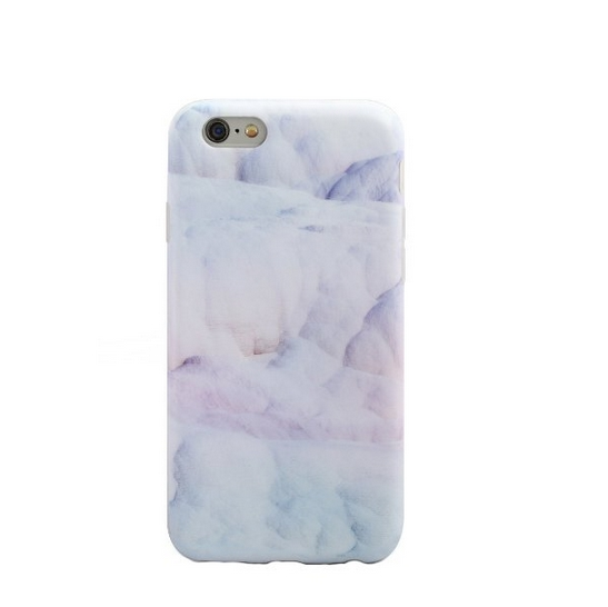 iPhone 6 Case  Whole Covered IMD TPU Case for iPhone 6 4.7 inch -light blue