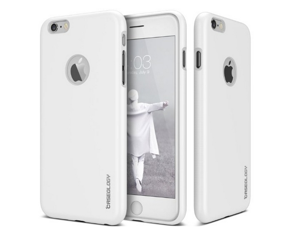 iPhone 6 Case Caseology Daybreak Series Slim Fit Shock Absorbent Cover White Slip Resistant