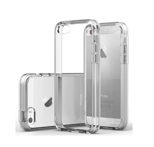 iPhone 6 Case Caseology Skyfall Series Scratch-Resistant Clear Back Cover clear dual bumper