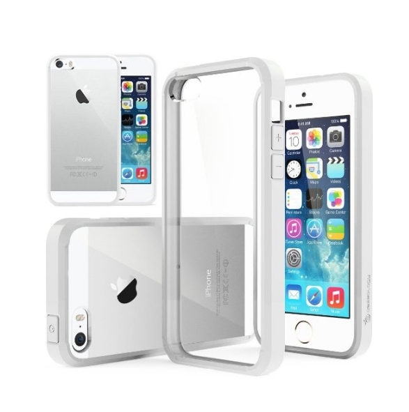 iPhone 6 Case Caseology fusion series Series Scratch-Resistant Clear Back Cover white