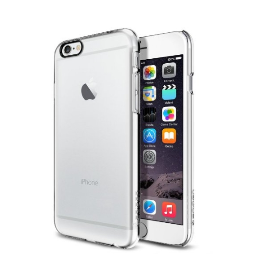 iPhone 6 Case SpigenThin Fit Exact-Fit Crystal Clear Premium Clear Hard Case for iPhone 6