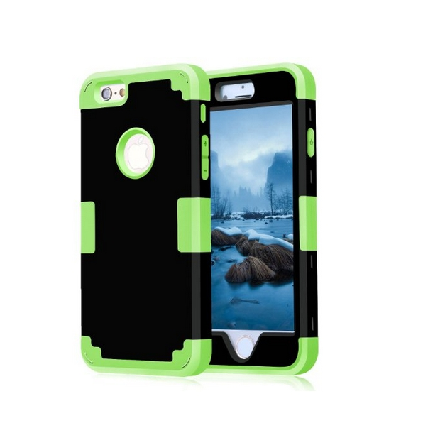 iPhone 6 Case iPhone 6s Case 2015 New Style Cambo Hybrid Shockproof black green