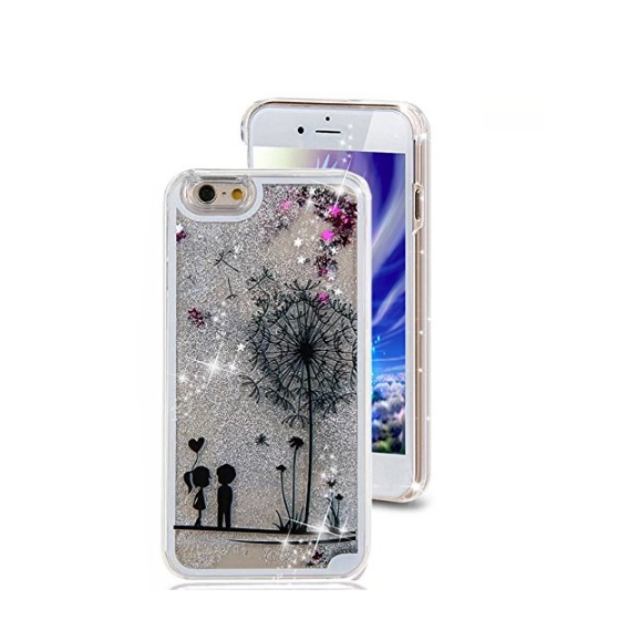 iPhone 6 Plus CaseCrazy Panda 3D Creative Liquid Glitter Design iPhone 6 Plus Liquid lovers