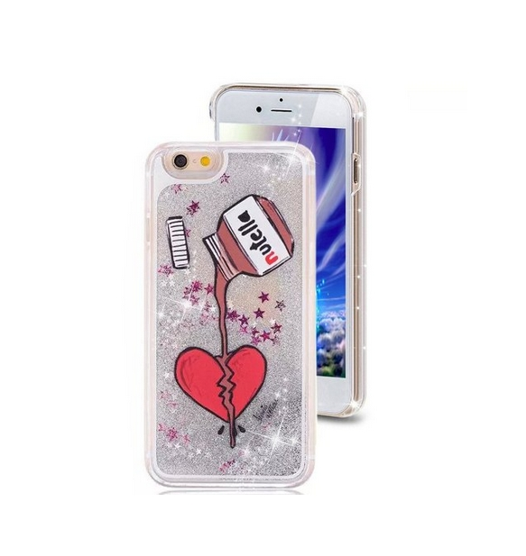 iPhone 6 Plus CaseCrazy Panda 3D Creative Liquid Glitter Design iPhone 6 Plus Liquid nutella