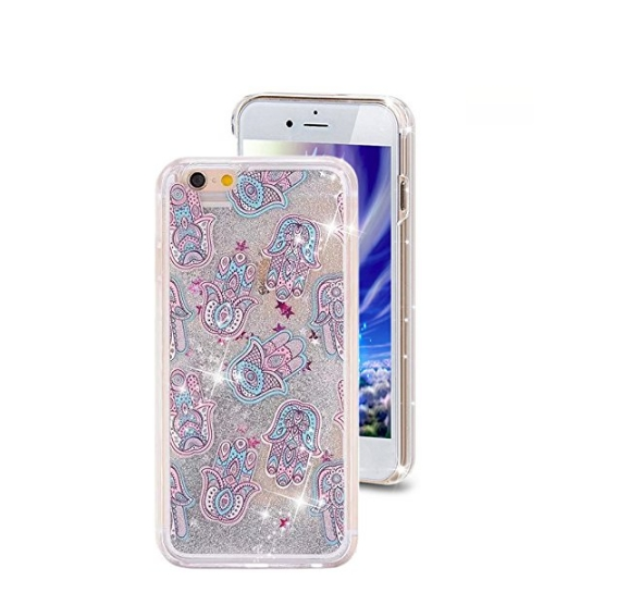 iPhone 6 Plus CaseCrazy Panda 3D Creative Liquid Glitter Design iPhone 6 Plus Liquid tulipa