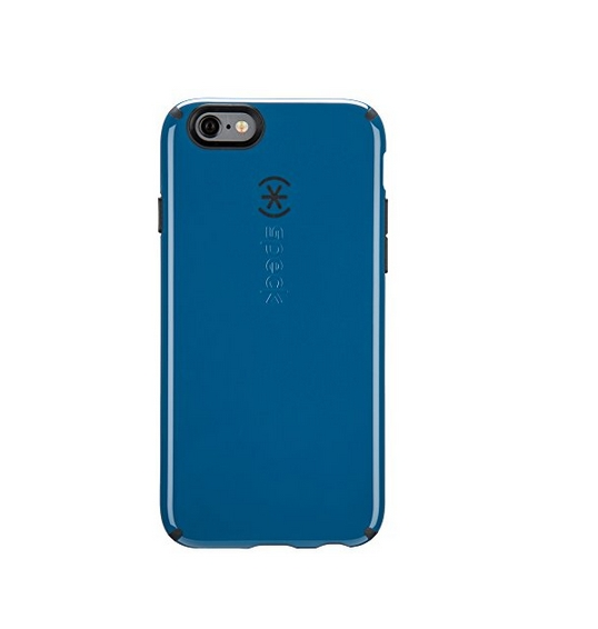 iPhone 6S Case and iPhone 6 Case by Speck Products CandyShell Protective Case Tahoe Blue Charcoal Grey