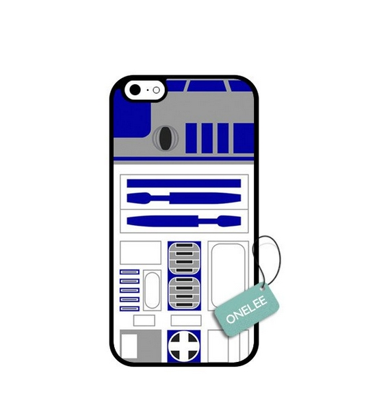 iPhone 6s Case Onelee Scratchproof Never Fade Star Wars R2D2 Collector Robot Pattern iPhone 6S black