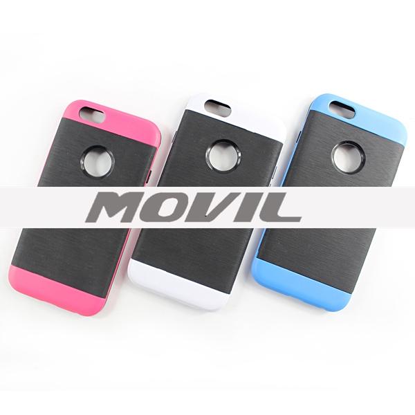 12049d5c8aa Inicio > Fundas Case Para Celulares > NP-2509 Montado TPU PC funda para  iPhone 6-13