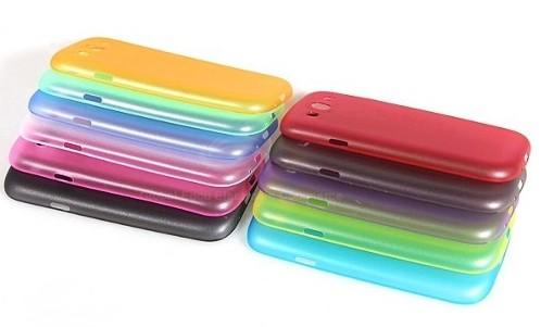 fae12f742aa Protector Forro Estuche Case Ultradelgado De Goma Samsung S3 - MOVIL