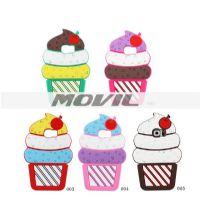 Caja del teléfono lindo helado 3D Silicon para Samsung para Galaxy S6