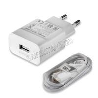 Cargador Rápido para Huawei con USB Cable Blanco