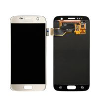 lcd pantalla samsung s7 dorado mayor china